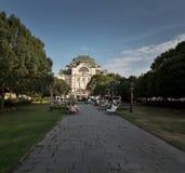 Sky, Tree, Landmark, Plant royalty free stock photo