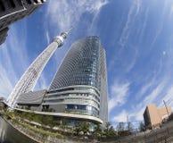 Sky tree tokyo stock image