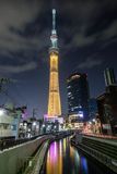 Sky Tree in Tokyo Stock Image