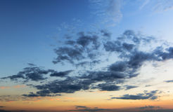 Sky in twilight time background Royalty Free Stock Image