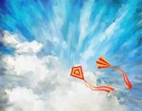 Sky Vector Artistic Background Stock Photos