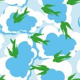 Sky vector seamless background Stock Photo