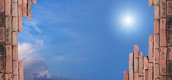 Sky view Stock Image