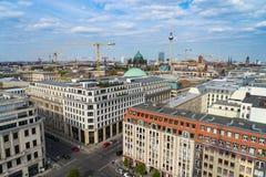 Sky view of Berlin, Germany Stock Photos