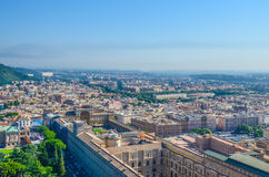 Sky view of Rome Royalty Free Stock Photo