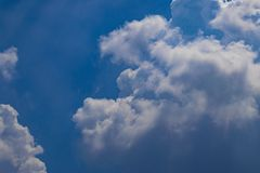 Sky with vivid colors.  Stock Images