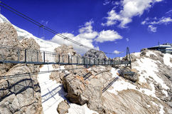Sky Walk in Dachstein Glacier Royalty Free Stock Photos
