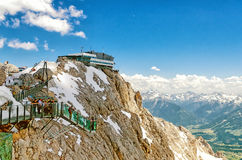 Sky Walk in Dachstein Glacier Stock Images