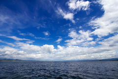 The sky with the water. In thailand Stock Images