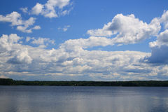 sky and water Royalty Free Stock Images