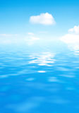 Sky and water Stock Images