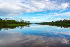 Sky and Water Reflection Royalty Free Stock Image
