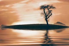 Sky, Water, Reflection, Calm Royalty Free Stock Photo