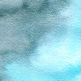 Sky watercolor painting texture. Abstract background in blue colors.  Stock Photos