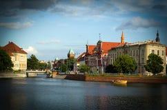 Sky, Waterway, Reflection, Landmark stock image