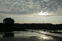 Sky, Waterway, River, Reflection Royalty Free Stock Image
