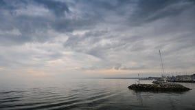 Sky, Waterway, Sea, Horizon stock photo