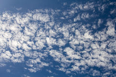 Sky. With wave cloud. Nice weather Stock Image