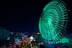 Sky wheel in Kyoto Japan Royalty Free Stock Photos