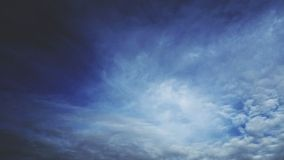 Sky. White and blue. Autumn sky royalty free stock image