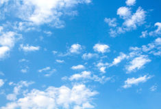 Sky. White cloud in blue sky Stock Photography