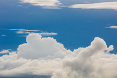 Sky and white cloud. Royalty Free Stock Images