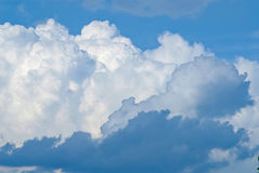 Sky and white clouds Royalty Free Stock Photography