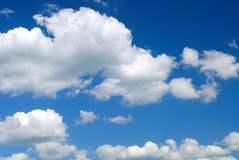 Sky and white clouds Stock Photography