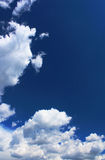 Sky and white clouds Royalty Free Stock Photo