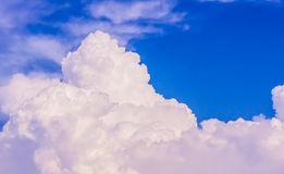 Sky and white clouds. Stock Images