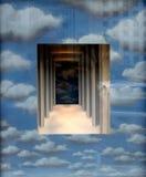sky window Royalty Free Stock Photo