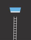 Sky Window Ladder Stock Image