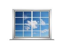 Sky window stock illustration