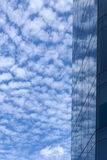 Sky and Window Reflection Stock Images