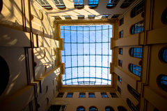 Sky in windows Royalty Free Stock Image
