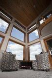 Sky through windows Stock Photography
