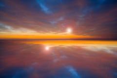 红色sky21 图库摄影