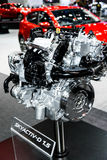SKYACTIV-D 1.5 Engine of Mazda Car. Stock Image