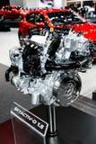 SKYACTIV-D 1 5 silnik Mazda samochód Fotografia Royalty Free