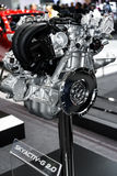 SKYACTIV-G 2 马自达汽车0个引擎  图库摄影