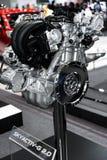 SKYACTIV-G 2 0 motor av den Mazda bilen Arkivbild
