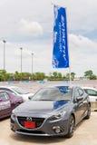 Skyactive nya Mazda 3 Fotografering för Bildbyråer