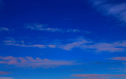 SkyAnd blu un cloudAbstract naturale Fotografie Stock