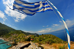 Skyathos希腊 图库摄影