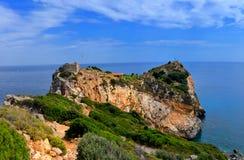 Skyathos希腊 免版税库存图片