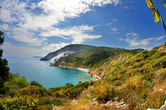 Skyathos Greece stock image