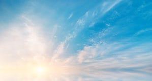 Skybakgrund Arkivbilder