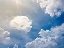 Skyblue,clouds. Beautiful blue sky with cloud cover sunlight background.Sky clouds.Sky with clouds weather nature cloud blue royalty free stock photo