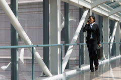 Skybridge Businesswoman - Horizontal Stock Images