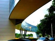 Skybridge d'hôpitaux de l'espace vert Photo stock